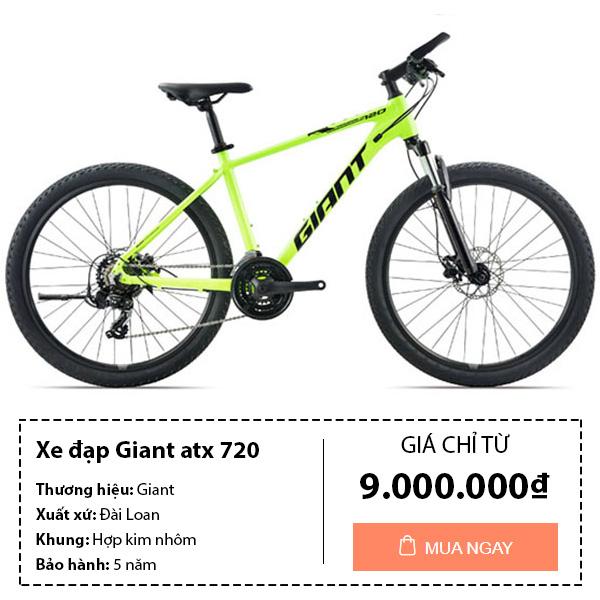 thông tin mua xe đạp thể thao giant atx 720