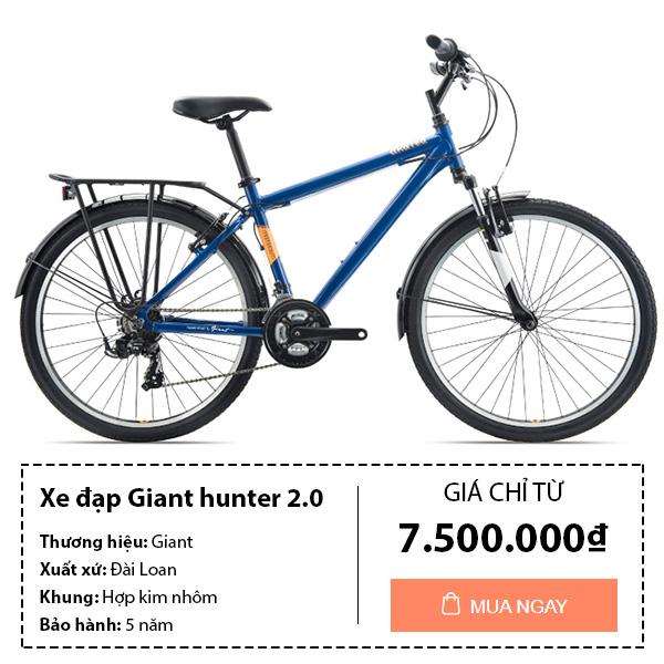 thông tin mua Xe đạp thể thao giant hunter 2.0