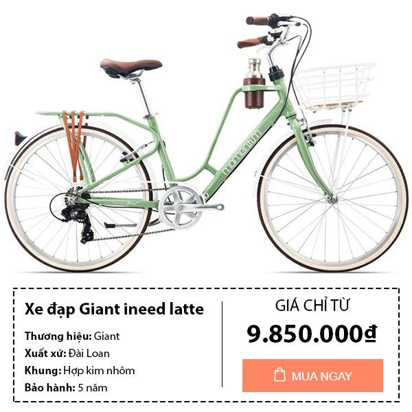 Xe đạp giant ineed latte 2019 cực đẹp dành cho nữ
