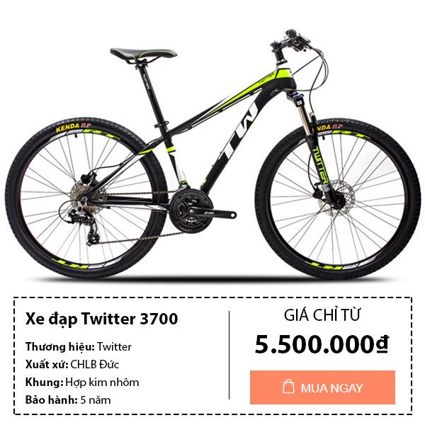 Xe đạp thể thao twitter 3700
