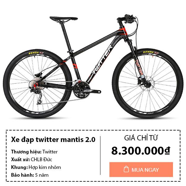 Xe đạp thể thao twitter mantis 2.0