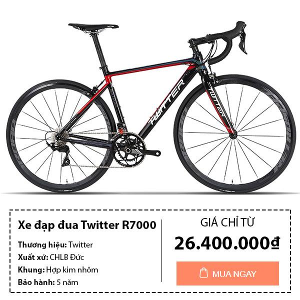 Xe đạp đua twitter R7000