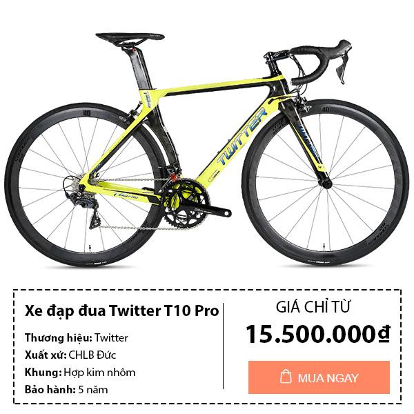 Xe đạp đua twitter t10 pro