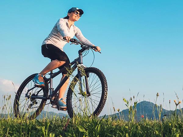 Đạp xe giúp giảm căng thẳng mệt mỏi