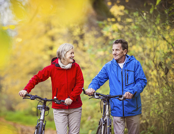 Đạp xe đạp thường xuyên giúp tăng tuổi thọ giảm lão hóa