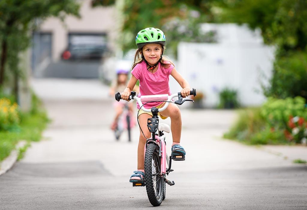 đạp xe đạp giúp trẻ em thông minh hơn