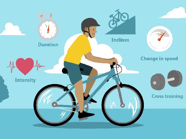 Thời gian đạp xe đạp tốt nhất tối thiểu 30 phút tối đa 2 tiếng