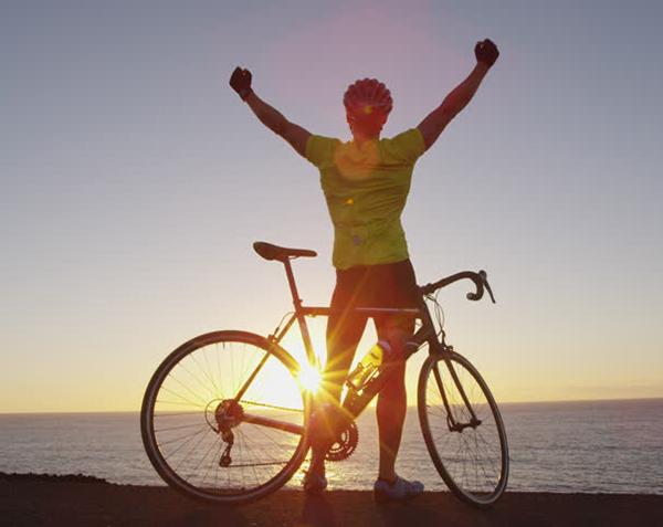 đạp xe giúp tăng cảm giác hoàn thành