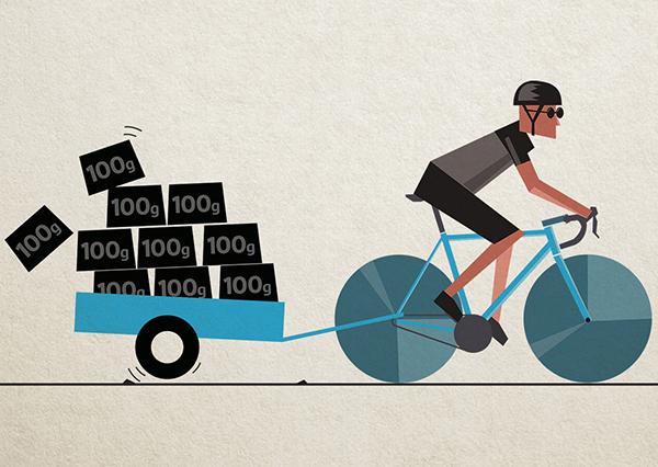 đạp xe đạp buổi sáng trước ăn giúp đốt cháy nhiều calo hơn