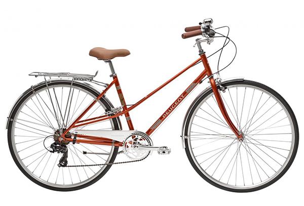 Xe đạp peugeot được thiết kế đẹp mắt ấn tượng